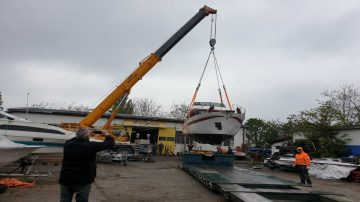 Vadjenje i spustanje pontonskih splavova i brodova